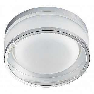 Bodové svietidlo EMITHOR DOWNLIGHT LED CHROME/CLEAR